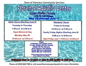 Open Swim flyer
